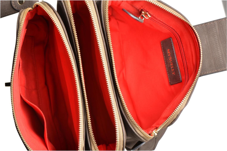 Handtassen MySuelly Roxanne Grijs achterkant