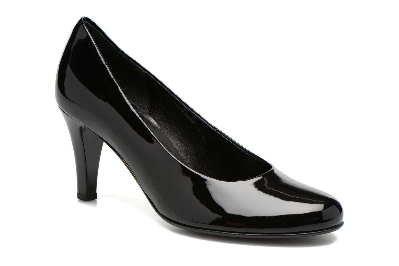 High heels Gabor Livia Black detailed view/ Pair view