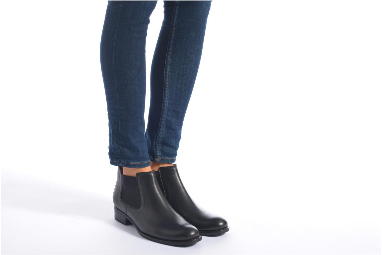 Bottines et boots Gabor Paloma Noir vue bas / vue portée sac