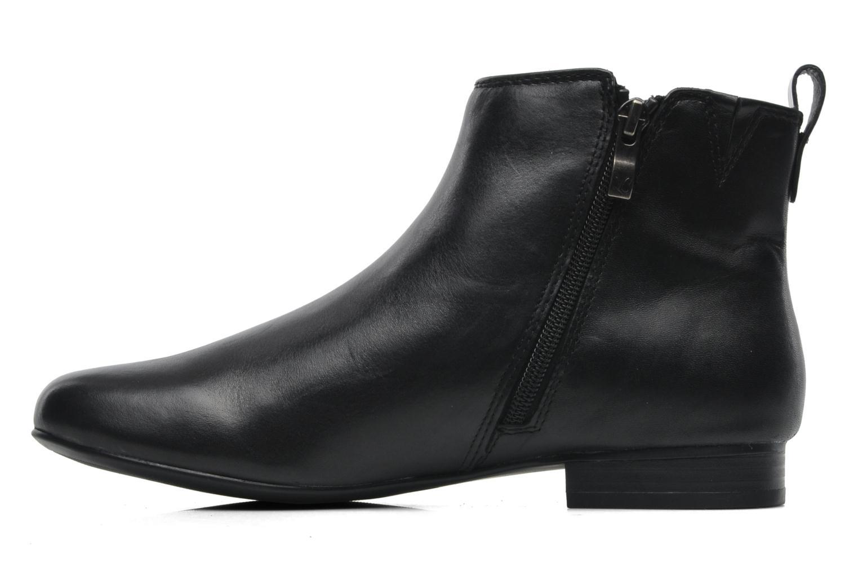 Bottines et boots Caprice Pollie Noir vue face