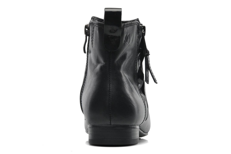 Bottines et boots Caprice Pollie Noir vue droite