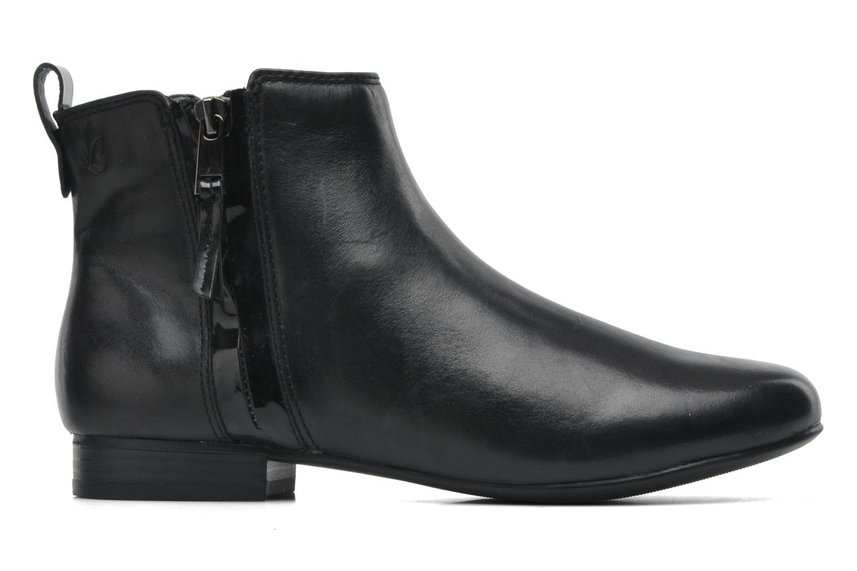 Bottines et boots Caprice Pollie Noir vue derrière
