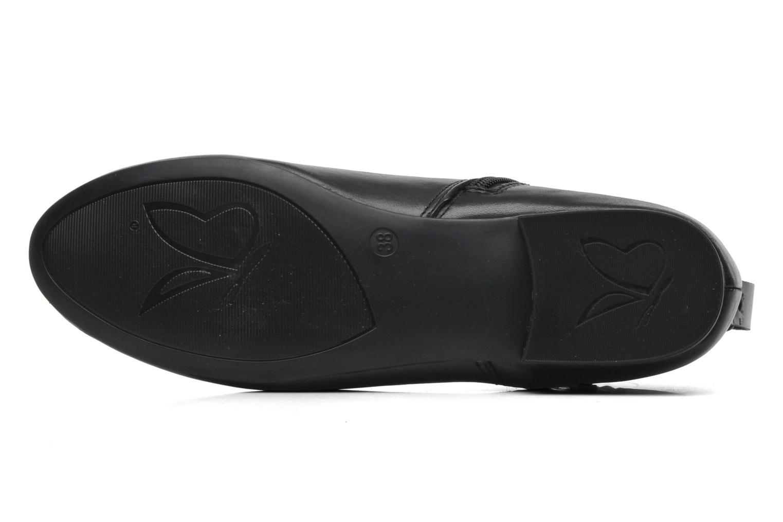 Bottines et boots Caprice Pollie Noir vue haut