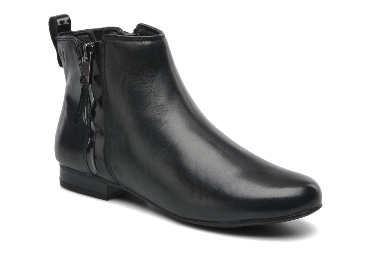 Bottines et boots Caprice Pollie Noir vue détail/paire