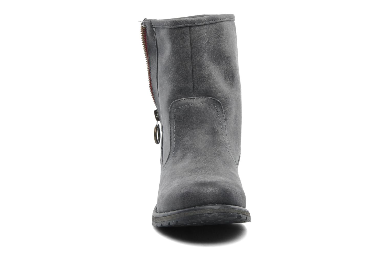 Bottines et boots Roxy Logger Sherpa Gris vue portées chaussures