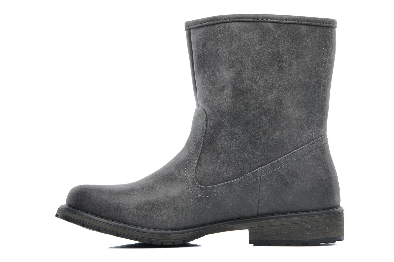 Bottines et boots Roxy Logger Sherpa Gris vue face