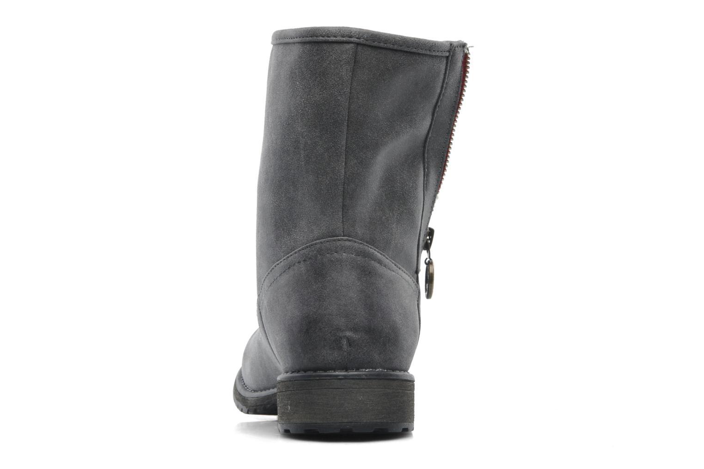 Bottines et boots Roxy Logger Sherpa Gris vue droite
