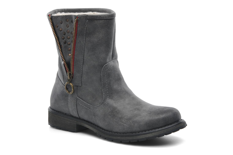 Bottines et boots Roxy Logger Sherpa Gris vue détail/paire