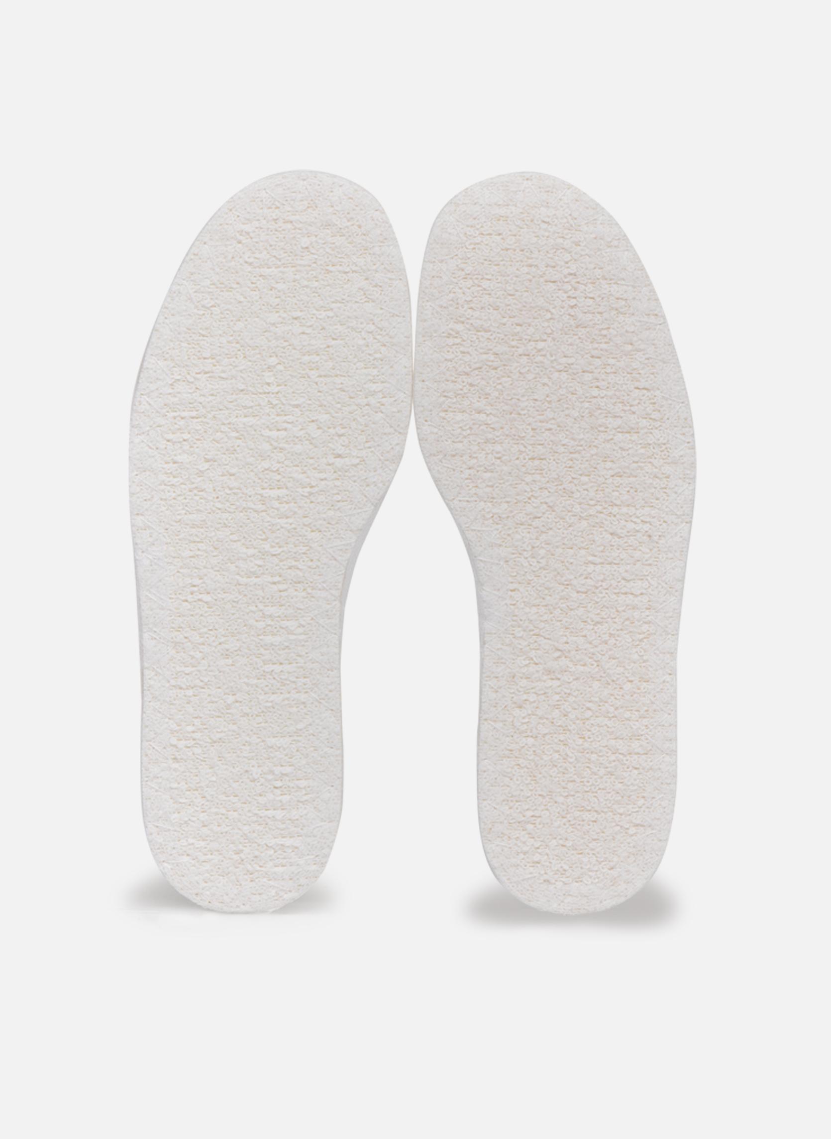 Semelle coton enfant Blanc