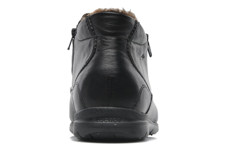 Bottines et boots Fluchos Luca 87830 Noir vue droite