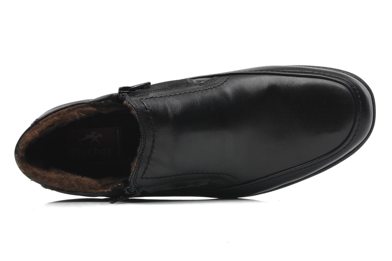 Bottines et boots Fluchos Luca 87830 Noir vue gauche