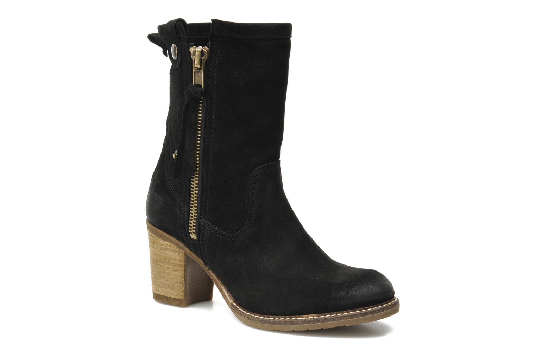 Boots en enkellaarsjes Tamaris Kira Zwart detail