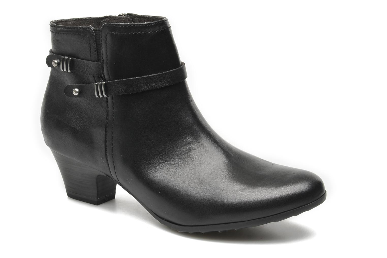Boots en enkellaarsjes Tamaris Idali Zwart detail