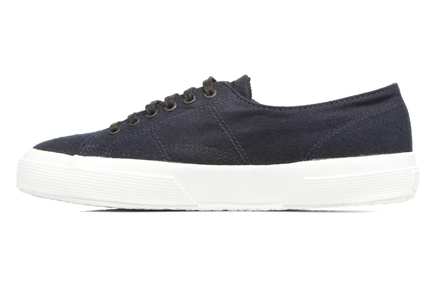 Baskets Superga 2750 Fabric Wool M Bleu vue face