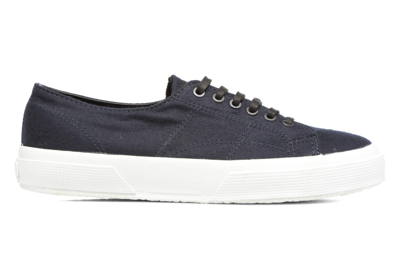 Sneakers Superga 2750 Fabric Wool M Blauw achterkant