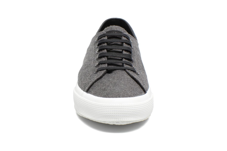 Sneaker Superga 2750 Fabric Wool M grau schuhe getragen