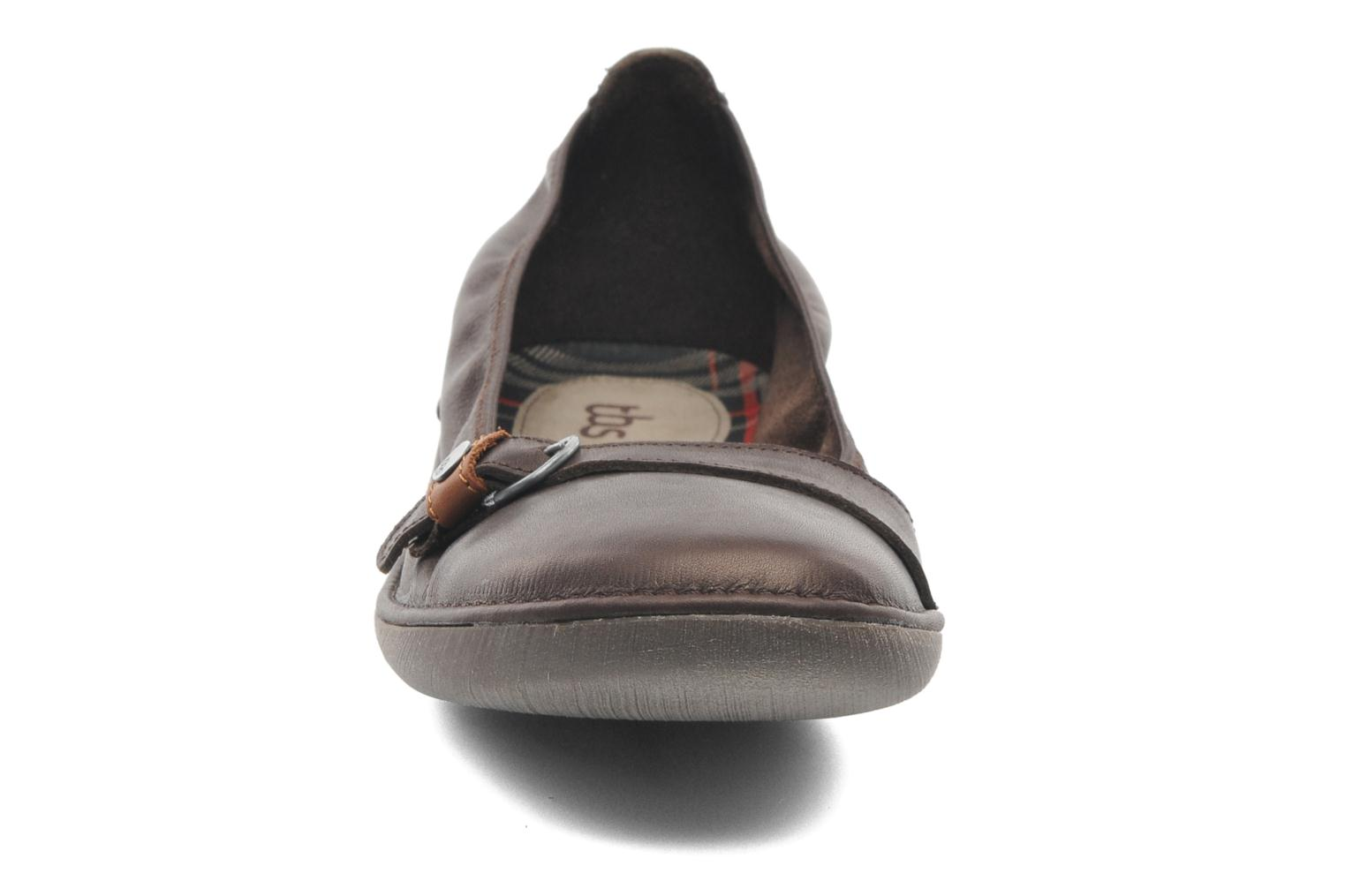 Ballet pumps TBS Maline Brown model view