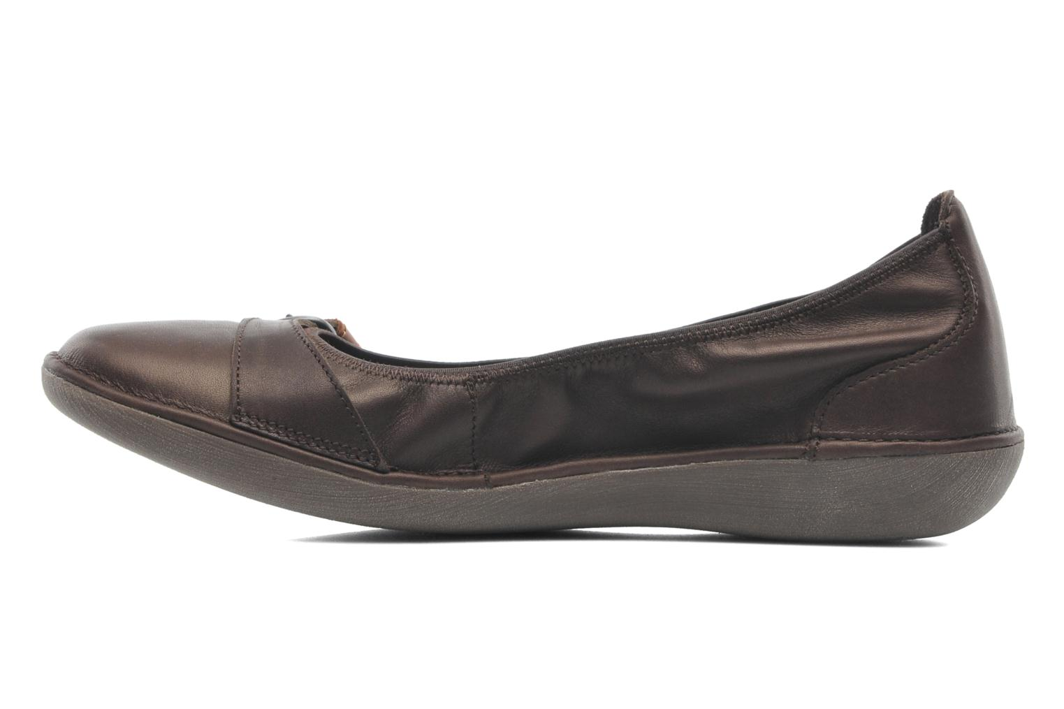 Ballet pumps TBS Maline Brown front view