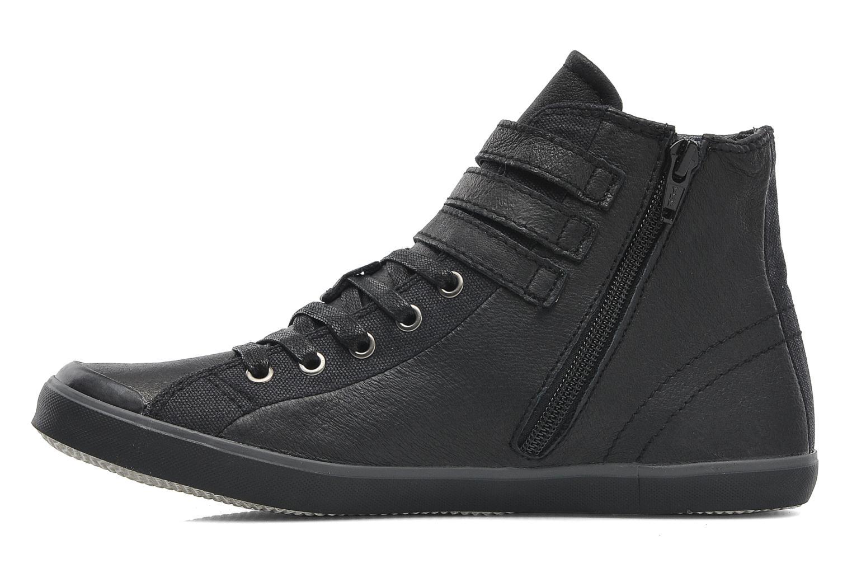 Sneaker TBS Aurane schwarz ansicht von vorne