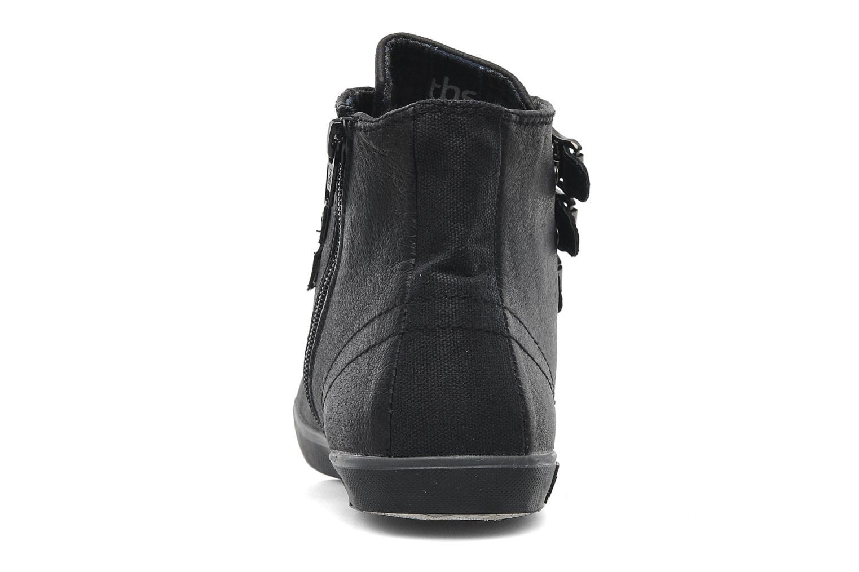 Sneaker TBS Aurane schwarz ansicht von rechts