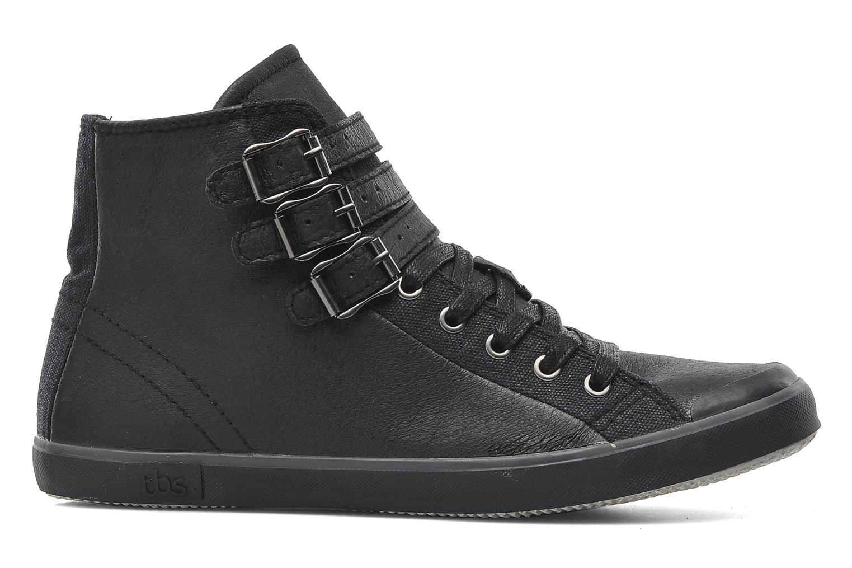 Sneaker TBS Aurane schwarz ansicht von hinten