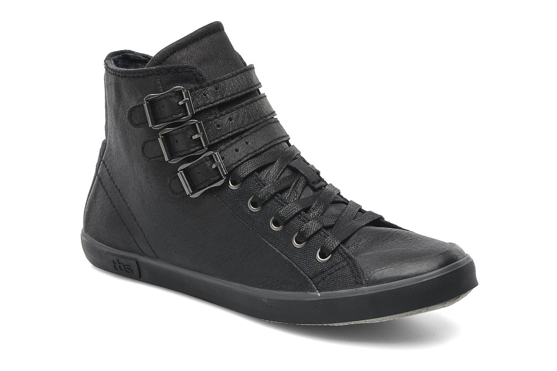 Sneakers TBS Aurane Zwart detail