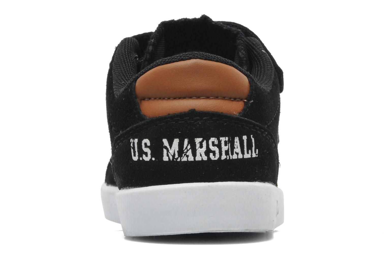 Baskets US Marshall Defi Kids Noir vue droite