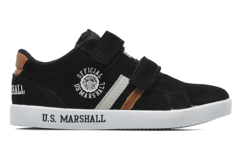 Baskets US Marshall Defi Kids Noir vue derrière