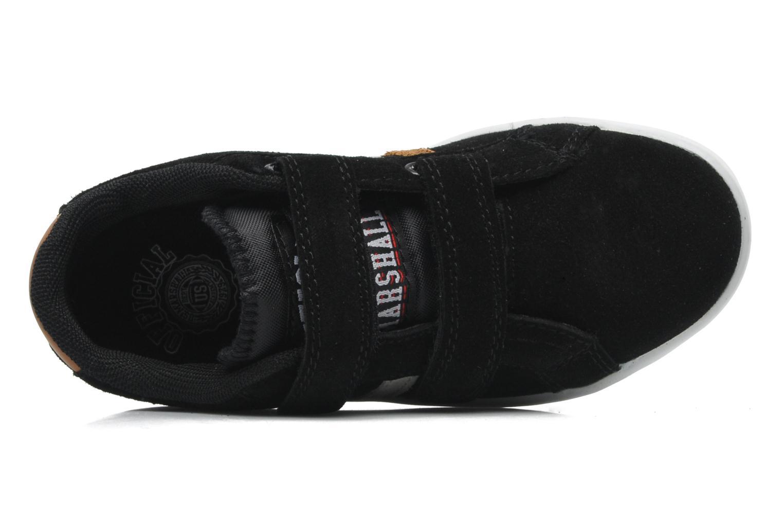 Baskets US Marshall Defi Kids Noir vue gauche