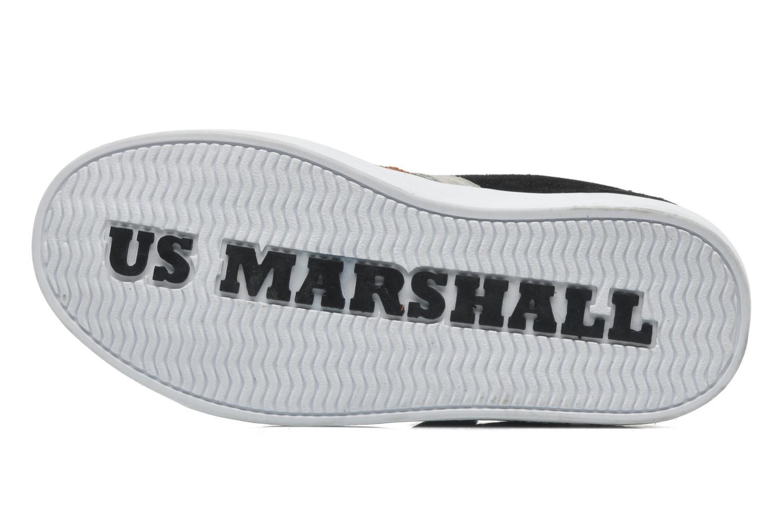 Baskets US Marshall Defi Kids Noir vue haut