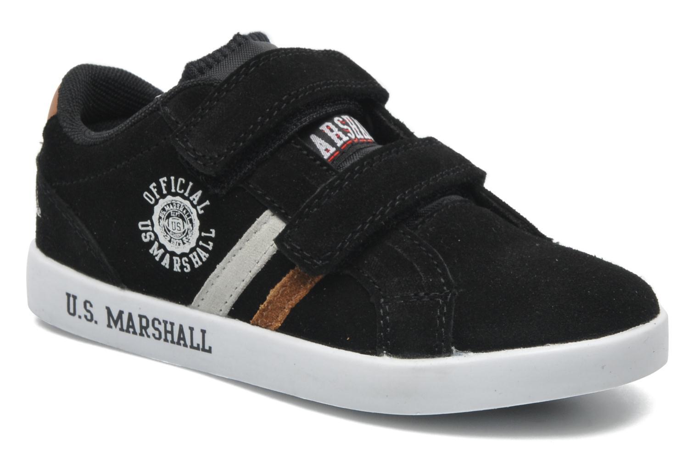 Baskets US Marshall Defi Kids Noir vue détail/paire