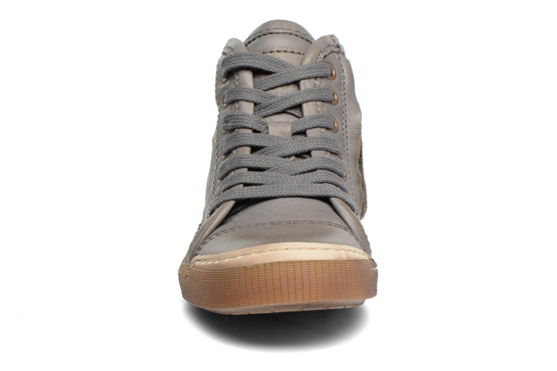 Baskets Bisgaard Henrik Gris vue portées chaussures