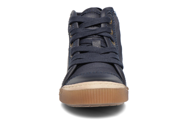 Baskets Bisgaard Henrik Bleu vue portées chaussures