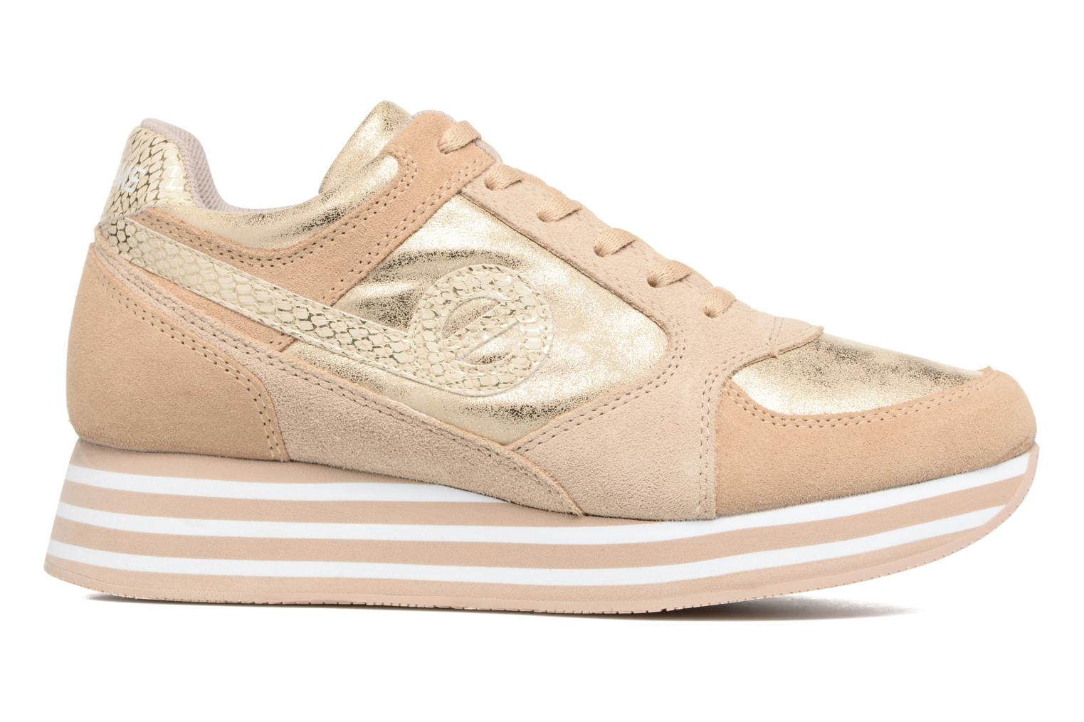 Trainers No Name Parko Jogger Bronze and Gold back view