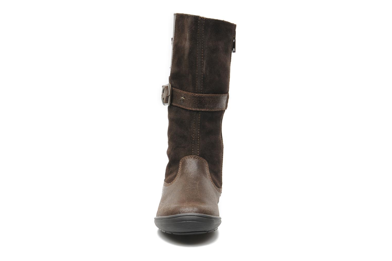Bottes Bopy SOUDAN Marron vue portées chaussures
