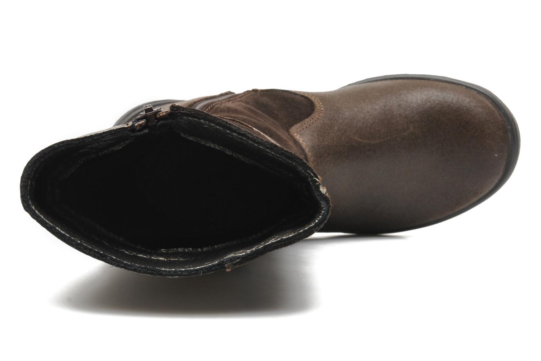 Stiefel Bopy SOUDAN braun ansicht von links