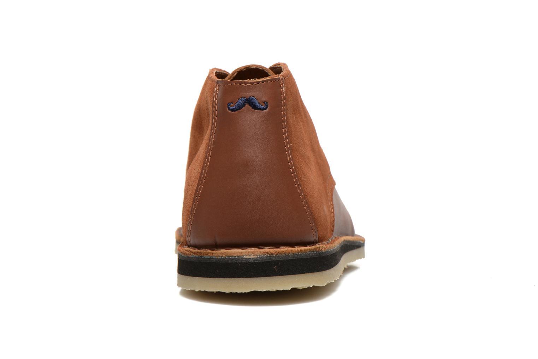 Chaussures à lacets M. Moustache Gaspard Cuir Marron vue droite