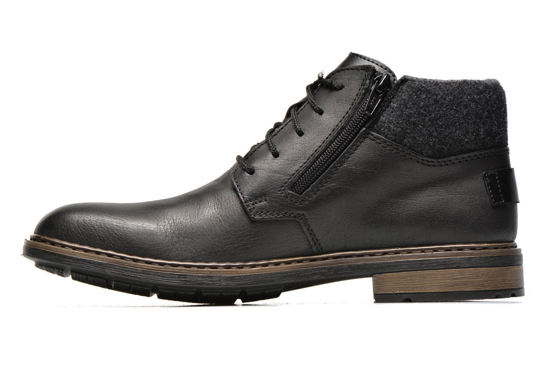 Lace-up shoes Rieker Gaspa F1230 Black front view