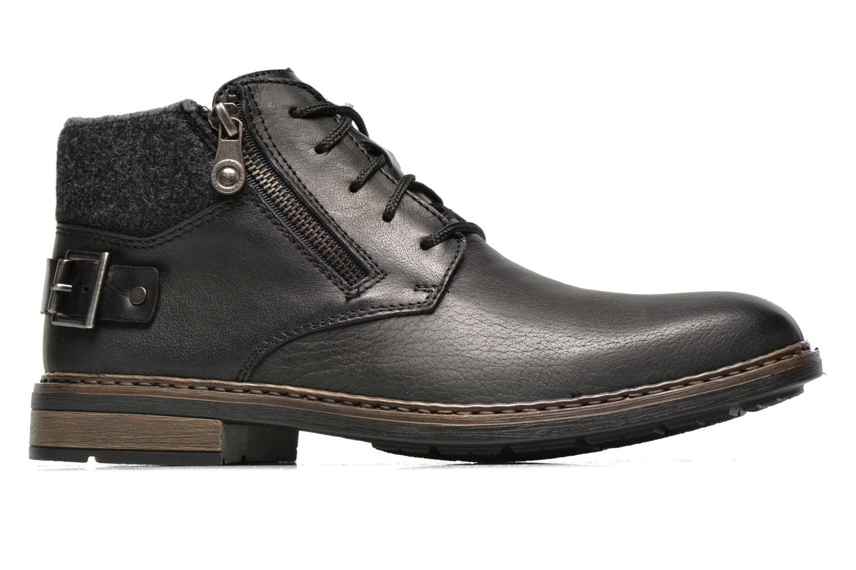 Lace-up shoes Rieker Gaspa F1230 Black back view