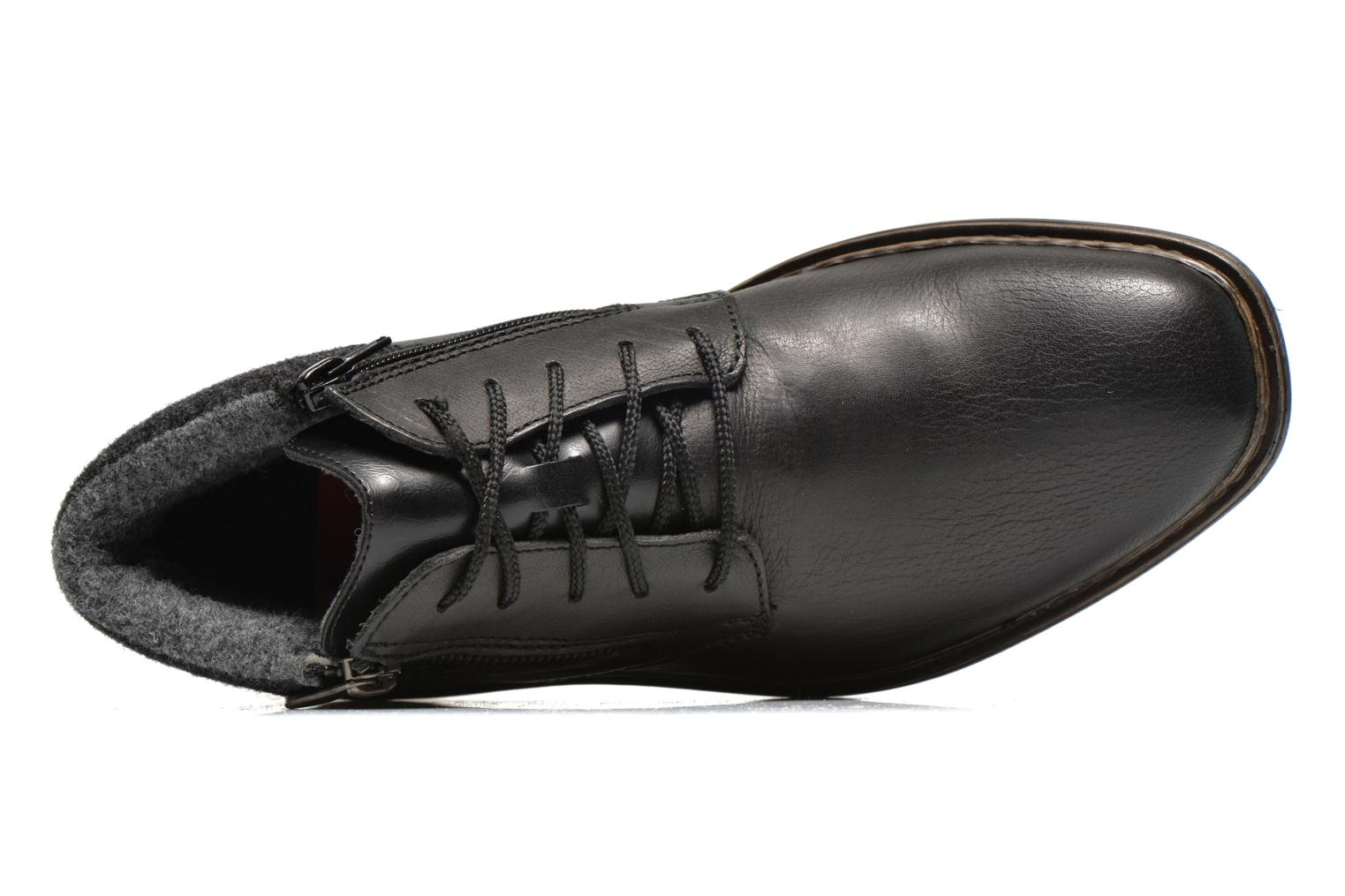Lace-up shoes Rieker Gaspa F1230 Black view from the left