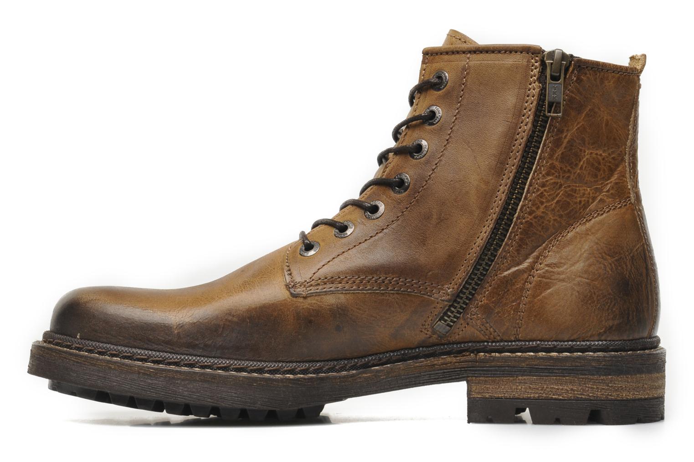 Boots en enkellaarsjes Redskins Hadane Bruin voorkant