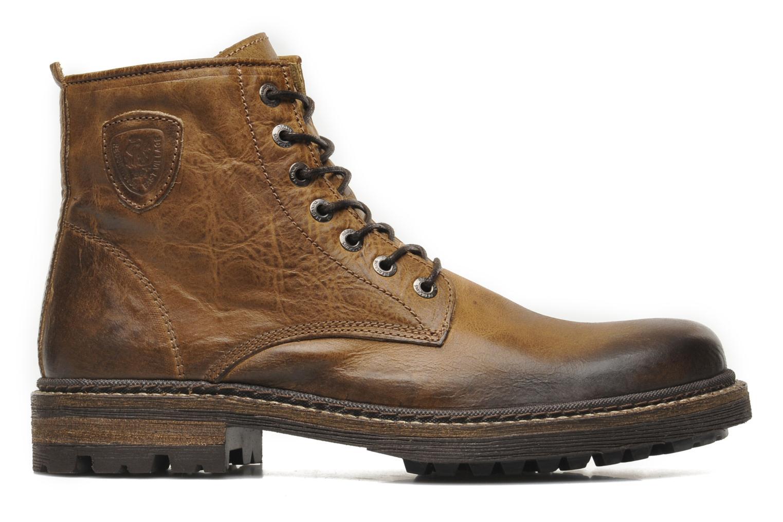 Boots en enkellaarsjes Redskins Hadane Bruin achterkant