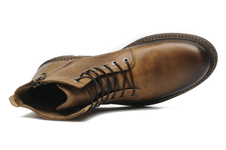 Bottines et boots Redskins Hadane Marron vue gauche