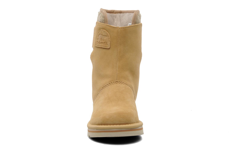 Stiefeletten & Boots Sorel Newbie beige schuhe getragen