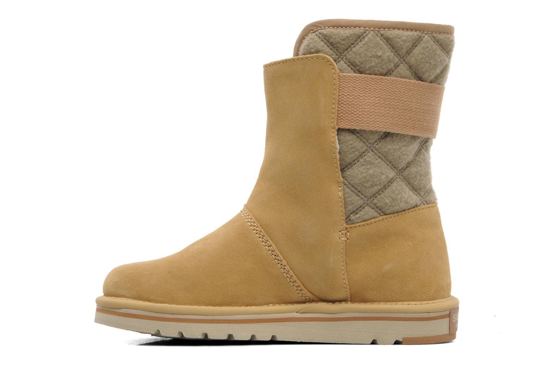 Stiefeletten & Boots Sorel Newbie beige ansicht von vorne