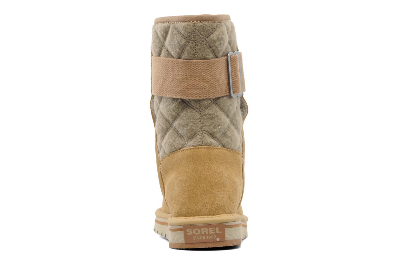 Stiefeletten & Boots Sorel Newbie beige ansicht von rechts