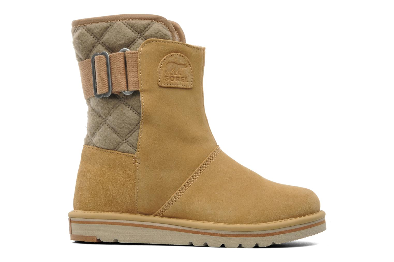 Stiefeletten & Boots Sorel Newbie beige ansicht von hinten