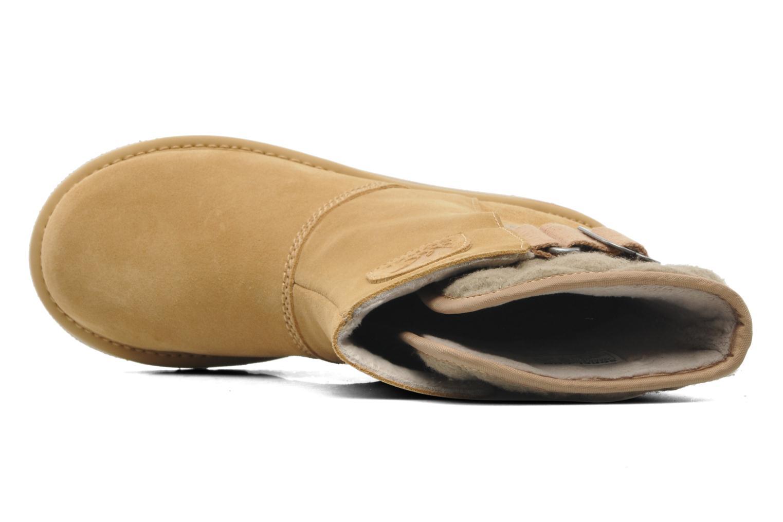 Stiefeletten & Boots Sorel Newbie beige ansicht von links