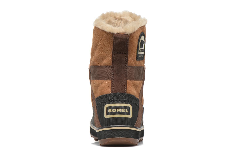 Chaussures de sport Sorel Glacy Explorer Shortie Marron vue droite