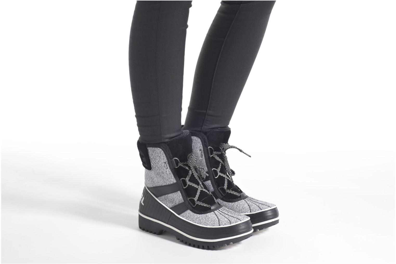 Sportschuhe Sorel Tivoli II schwarz ansicht von unten / tasche getragen
